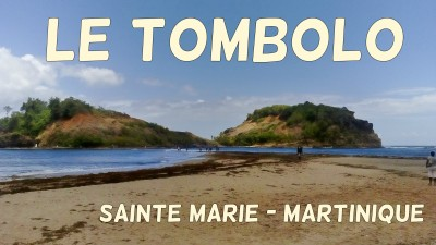 Tombolo Ilet Sainte Marie Martinique