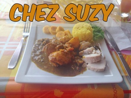 restaurant Chez suzy Tartane Martinique