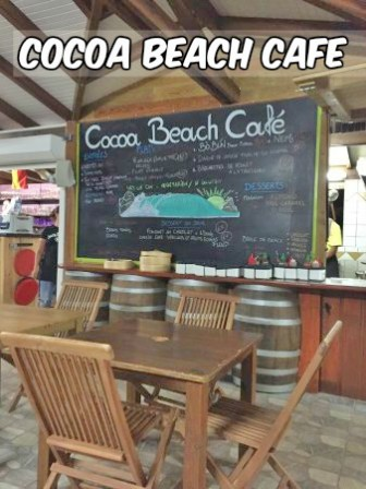 restaurant cocoa beach cafe martinique