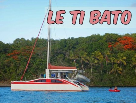 catamaran le ti bato, tartane, martinique