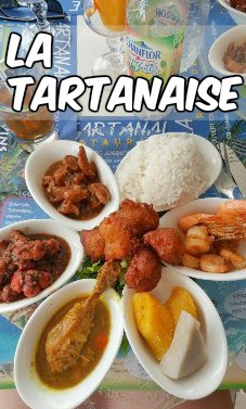restaurant la Tartanaise Martinique