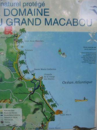 Plan Trace des Caps Macabou